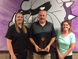 Board Member Clif Carnes Honored for 9 Years of Service