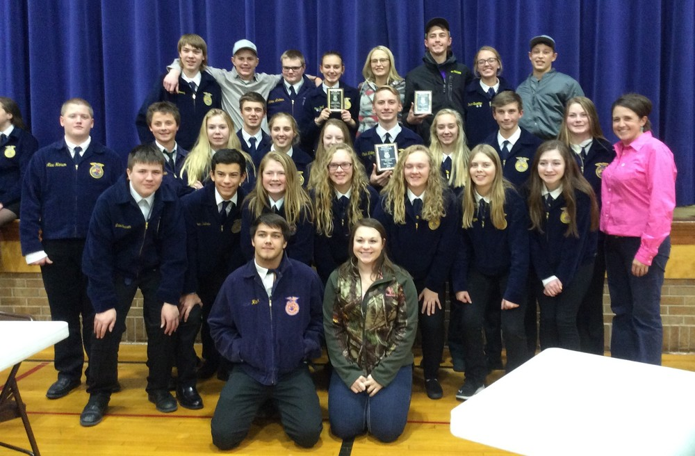 BHS FFA District CDE Contest
