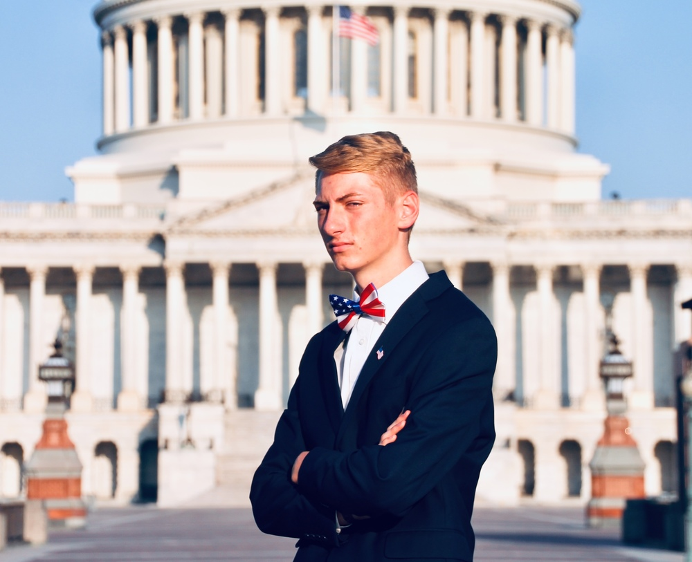 Caleb Weiland -South Dakota Delegate for United States Senate Youth Program