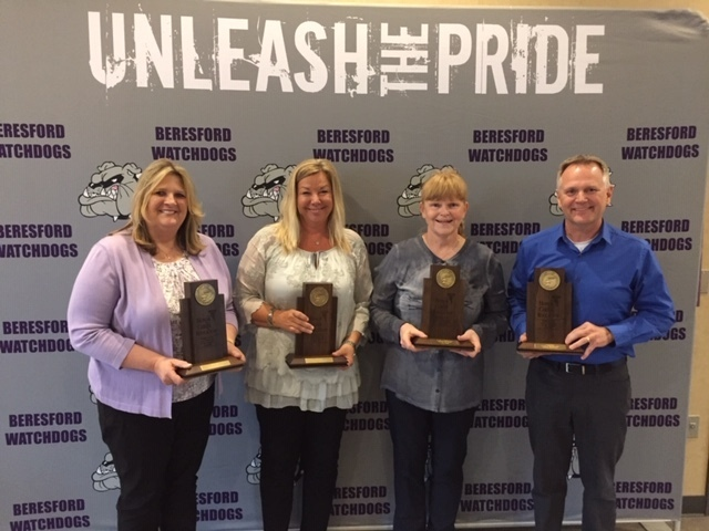 District Honors Staff for Years of Service