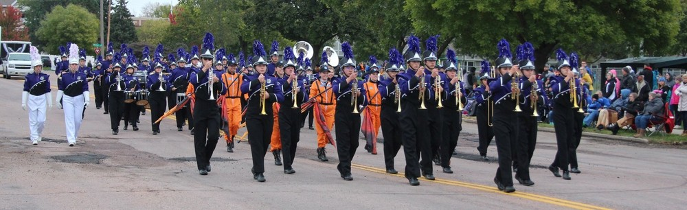 BHS Marching Band Receives 1st Place at Two Festivals
