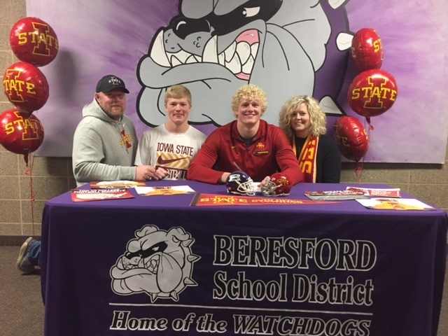 Peterson to Play Football at Iowa State University Cyclones