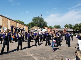 BHS Marching Band Receives 1st Place at Sioux Falls Festival of Bands