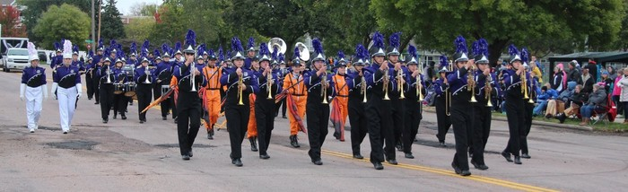BHS Marching Band Receives 1st Place