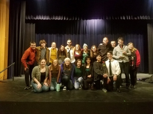 BHS One Act Play Advances to State!