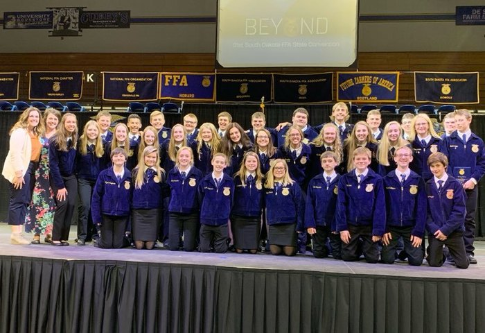 BHS FFA Chapter at 2019 State FFA Convention