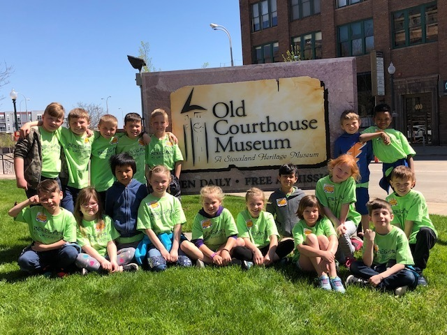 1st Graders at the Old Courthouse Museum