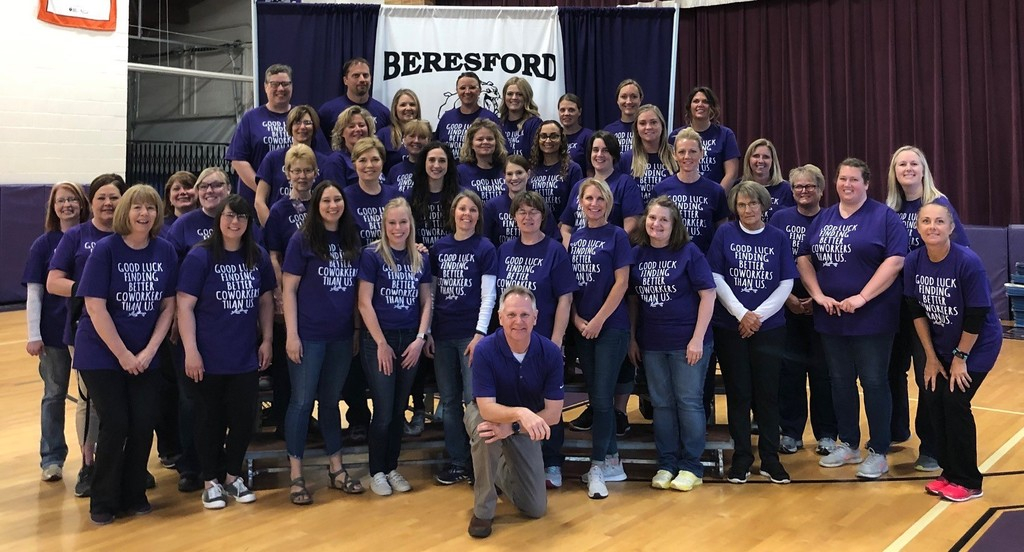 Beresford Elementary School Staff Bid Farewell to Principal Kevin Nelson