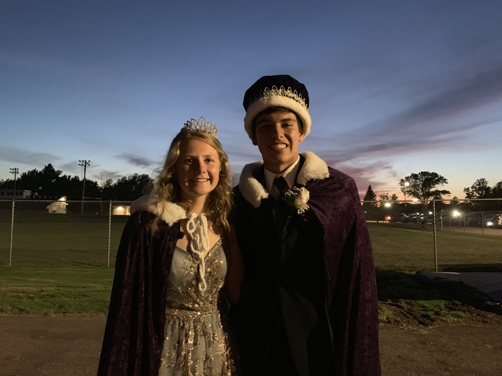 Queen Katie and King Nate