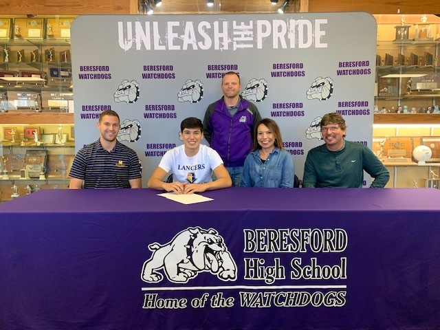 Nate Kropuenske Signs National Letter of Intent