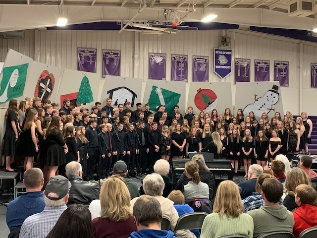 BHS Chamber Choir and Concert Choir