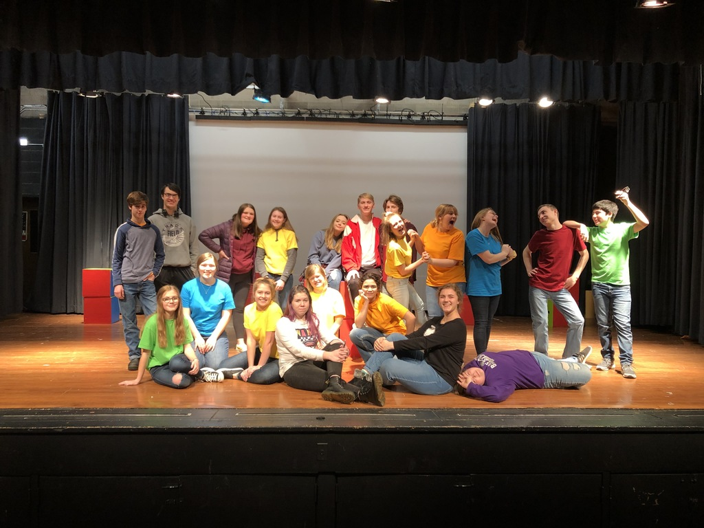 BHS One Act Play Cast and Crew
